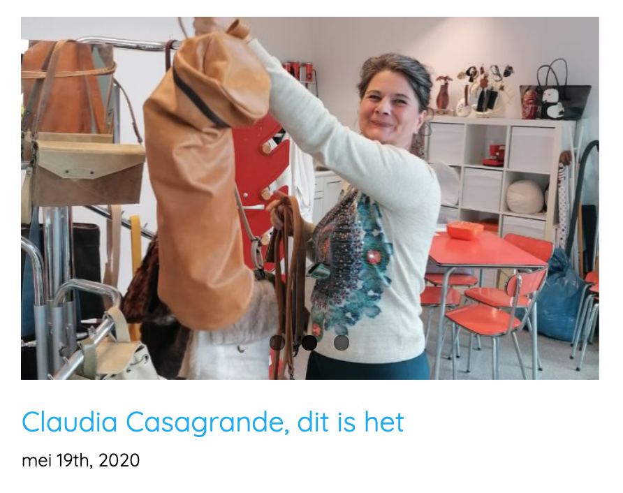 Interview met Claudia Casagrande, Cla Cla design